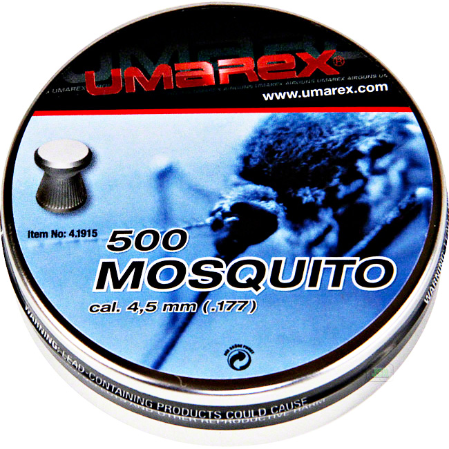 Mosquito 22 flat head pellets peter 39 s fishing and sports for Mosquito pellets